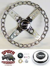 "1969-1993 Camaro steering wheel 11"" CHROME CHAIN"