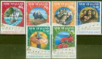 New Zealand 1997 Christmas set of 6 SG2097-2102 V.F MNH
