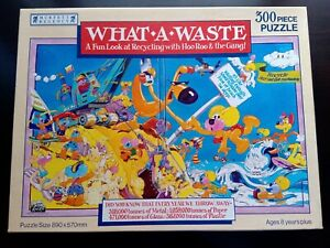 What A Waste - Murfett Regency - Puzzle - 300 Pieces - Australia - Recycling