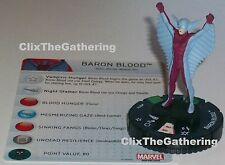 BARON BLOOD #031a Nick Fury Agent of S.H.I.E.L.D Marvel HeroClix