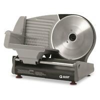 "Heavy Duty 8.7"" Electric Meat Slicer Adjustable Slicing Die-cast Aluminum"