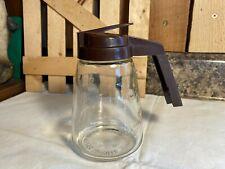 New ListingVintage Federal Houseware Glass Syrup Pitcher Dispenser