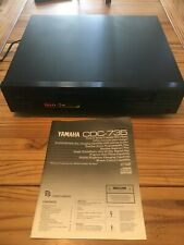 Yamaha Natural Sound 5- Disc Compact Disc Player Model Cdc - 735 With Remote