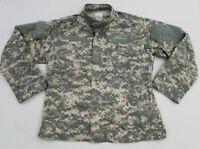 US Military Army ACU Digital Camo Combat Uniform Shirt Top Jacket Large Reg HB