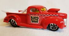 1997 Hot Wheels '40 FORD DRAG TRUCK (PIZZA ON WHEELS), 20/40, [Red], LOOSE, Mint