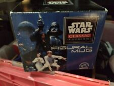 Star Wars Figural Mug Darth Vader Applause 1995 Mint in Box With Coa-Best Offer