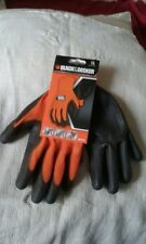 BLACK & DECKER GLOVES DIY, GARAGE JOBS, GARDENING, PAINTING.....