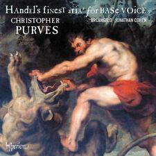 George Frideric Handel : Handel's Finest Arias for Base Voice - Volume 2 CD
