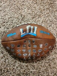 NFL Super Bowl VII Authentic Leather Football Wilson 2018