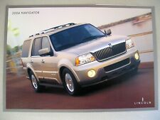Prospekt Lincoln Navigator II MK 2 Modell MY 2004 brochure USA englisch