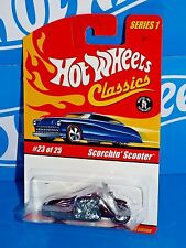 Hot Wheels 2005 Classics Series 1 #23 Scorchin' Scooter Spectraflame Purple