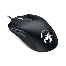 5000 DPI GX Gaming Mouse M6-600 7 color led USB Wired Optical Mouse for PC Black