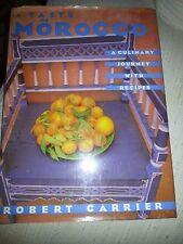 """Livre de cuisine marocaine """"A taste of Morocco"""""""
