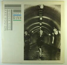 """12"""" LP - Matt Bianco - Whose Side Are You On - C705 - washed & cleaned"""