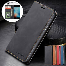 For iPhone 11 12 Pro XS Max XR X 7 8 Plus  Flip  Leather Wallet Phone Case Cover