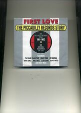 FIRST LOVE - THE PICCADILLY RECORDS STORY - JOE BROWN EMILE FORD - 3 CDS - NEW!!
