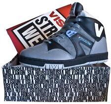 VISION STREET WEAR MS14050 Skateboard Zapatos 5 UK/6 USA Original Años 80 NOS