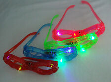24 pcs Blinking Eyeglasses Multi Color Led Light Up Flashing Novelty Eye Glasses