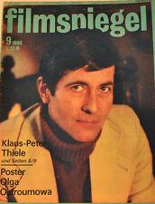 MIROIR EN FILM - 9/1985 - KLAUS-PETER TAI - POSTER OLGA OSTROUMOWA - FS18