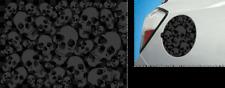 Etiqueta engomada de la aleta de combustible bomba cráneos Pegatina Oilcan Pegatinas