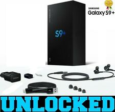 New Samsung Galaxy S9 Plus G965U1 64GB (FACTORY UNLOCKED) -- GSM+CDMA All Colors