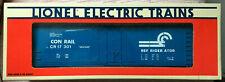 LIONEL 6-17301 Conrail Reefer standard O NIB