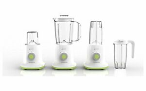 Kenwood BL237WG Blend Xtract Compact 3 in 1 Blender Smoothie Maker, White/Green