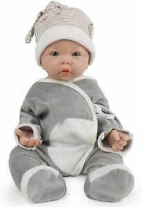 17 Inch  Full Silicone Baby Doll , Not Vinyl Dolls,Real Realstic Reborn