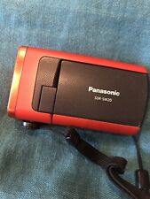 Panasonic SDR-SW20  PAL 10x Optical Zoom Waterproof Weatherproof + battery