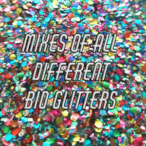 Super Mixes - Biodegradable Glitter - Eco Glitter - Bio Glitter - Cosmetic Grade