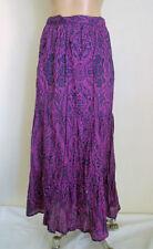 Full Long 100% Cotton Skirts for Women
