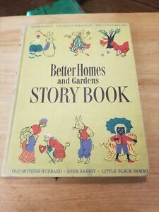 Antique Better Homes and Gardens Story Book Poems Illustrated 1950 Hardcover