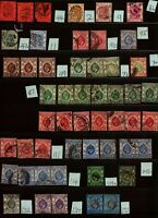 HONG KONG - Nice Large Lot of 290+ Vintage Stamps - Check out the scans.