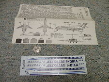 Revell / Lodela Kikoler decals 1/120 H-246 DC-9 Alitalia - sheet+ instructions