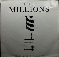 Rock Picture Sleeve Promo 45 The Millions - Sometimes (Radio Edit) / Sometimes