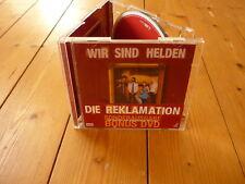 Wir Sind Helden  Die Reklamation  CD + DVD  Limited Tour Edition