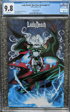 Lady Death Merciless Onslaught #1 Green Chase Edition CGC 9.8 Ltd /66