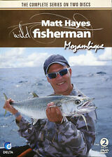 MATT HAYES WILD FISHERMEN MOZAMBIQUE - THE COMPLETE SERIES ON 2 DVD'S