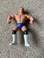 ☆ 1990 WCW Galoob LEX LUGER - Blue Trunks Wrestling Figure WWE WWF Hasbro