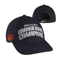 8612dc052f1 Clemson Tigers NCAA Nike Football Official 2014 Orange Bowl Champions Hat  Cap