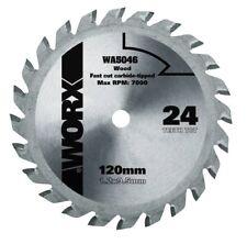 WORX WA5046 WORXSAW 120mm 24T TCT Compact Circular Saw Blade