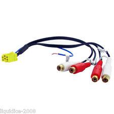 Cavo AUX ct29ax03-Mini ISO - 4 x Fono RCA Line Out Connettore Adattatore Di Piombo