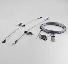 Stahlseilaufhängung Halterung für LED Aquarium Beleuchtung Edelstahl Seilsystem