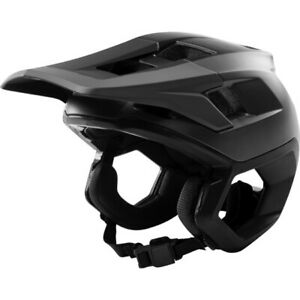 2019 New Fox Racing Dropframe MTB Bike Bicycle Helmet Black