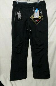 VOLCOM Men's MERLIN GORE-TEX Snow Pants - Black Small - NWT 32 x 32