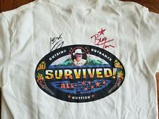 Survivor Big Tom Shirt autographed from 2002