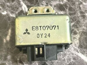 90-94 ECU fuel pump Relay 1G DSM Eclipse Talon Laser 4G63 Turbo E8T07071 GENUINE