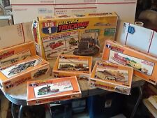 Vintage Tyco US 1 Electric Trucking City hauler starter set with six add-on sets