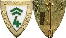 4° Escadre de Chasse, LUXEUIL, doré, homologation en relief, Balme 1217 (10083)