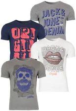 JACK & JONES Herren-T-Shirts mit Rundhals für Party-Anlässe